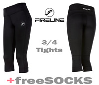 Womens Tights Gym Compression Pants Activewear Running 3/4 7/8 Long Sports Socks