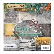 "Industrial 3.0 6""x6"" Paper Pad - 36 Sheets - Studio Light - Nr.101"
