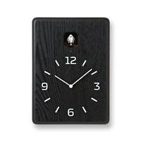 Lemnos CUCU Cuckoo Clock Wall Clock Black LC10-16 BK 3987 F/S w/Tracking# Japan