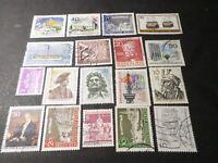 Alemania Berlin, Lote Sellos Matasellados, MB, Tabletas Redondo, VF Stamps
