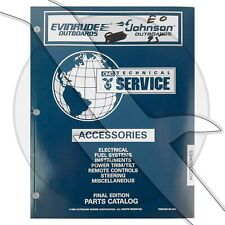 Johnson Evinrude 1997 Accessories Parts Catalog Oem Shop Repair Service Manual