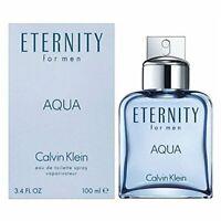 Calvin Klein ETERNITY AQUA Cologne for Men 3.4 fl.oz Eau De Toilette Spray