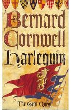 BERNARD CORNWELL _____ HARLEQUIN ____ SHOP SOILED ____ FREEPOST UK