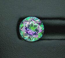 ONE 8mm Round Brilliant Mystic Fire Topaz Gem Stone Gemstone