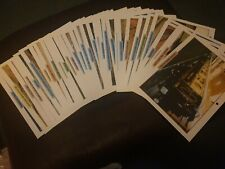 Legendary Trains Maxi Cards over 30 cards & poster