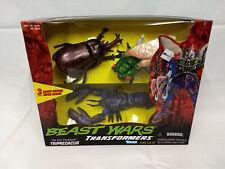 1997 Hasbro BEAST WARS Transformers Evil Predacon Battle Master TRIPREDACUS MIB