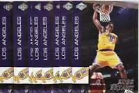 (10) 1999 Collector's Edge Kobe Bryant Los Angeles Lakers KB1 Insert Card Mint