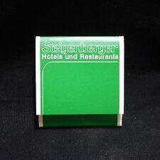 STEIGENBERGER HOTELS UND RESTAURANTS MATCHBOOK UNUSED  (# 8)