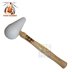 Thor 8900SP 75mm 3in super plastic pear shaped bossing mallet hammer
