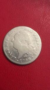 piece argent 15 Sol Louis XVI 1792