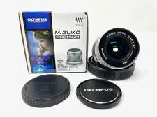 Olympus M.Zuiko 12mm f2.0 ED MSC Lens Silver