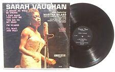 SARAH VAUGHAN FEATURING MARTHA DILARD: Fletcher Henderson LP Guest Star Records