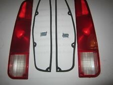 1974-1988 Fits Jeep J10, J20 Pickup Tail Light Lamp Lenses W/ Gaskets