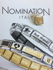 Original Nomination 750 Gold 1x Modul BIG SERIE Motiv Hahn NEU! UVP 39.-