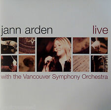 Jann Arden - Live With the Vancouver Symphony [Limited Ed] (CD 2002)