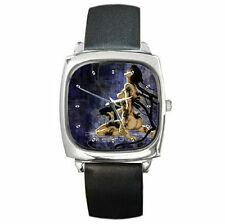 Ghost in the Shell animation leather wrist watch