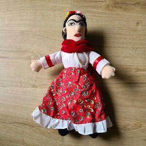 Frida Kahlo Little Thinkers Plush Doll Unemployed Philosophers Guild 2005