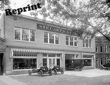 Photograph Vintage Ford Repair Shop Steuarts Garage Washington dc 1920c    8x10