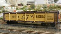 Athearn BB HO old Time Heinz 57 Wood Pickle Tank Car,Upgraded,  Exc.
