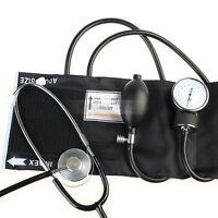 Blutdruckmessgerät SET Stethoskop + Oberarm Manschette Neu