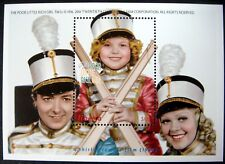SHIRLEY TEMPLE STAMPS SOUVENIR SHEET MNH THE POOR LITTLE RICH GIRL LIBERIA MOVIE
