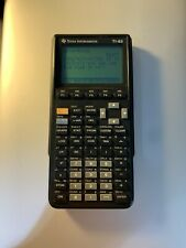 Texas Instruments TI-85 Graphing Calculator With Slide Cover Tested Working