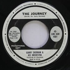 Folk 45 Garry Sherman & His Orchestra - The Journey / Bagpipe Bomp On London Rec