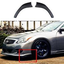 DIY Side Adhesive Car Front Bumper Splitters Lip Diffuser Kit  Carbon Fiber Look