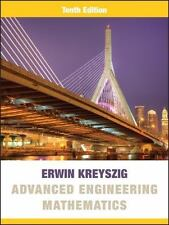 Advanced Engineering Mathematics 10/e Int'l Edition