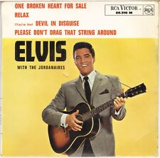 """ELVIS PRESLEY """"DEVIL IN DISGUISE"""" FRENCH 60'S EP RCA VICTOR 86 310 (9-1963)"""