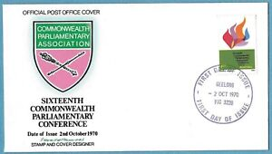 Australian 1970 Commonwealth Parliamentary Conference FDC Stamp D161