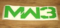 COD Call of Duty MODERN WARFARE 3 MW3 very rare promo Lrge Sticker 75x20cm