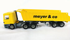 "Siku Die Cast Hauler Truck ""Meyer & Co"" West Germany 9in"