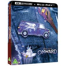 Onward 4K UHD Limited Edition Steelbook / Blu Ray / Pre-Sale /WORLDWIDE SHIPPING
