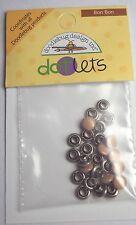 Doodlebug Designs Dotlets Bon Bon Brown, NEW