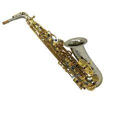 Eastern music professional cupronickel alto saxophone white copper sax alto