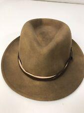 846df3f038f Vintage RedHead Quality Size Medium Lite Felt Wool Fedora Hat Western USA
