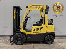 2010 Hyster H50ft 5000lb Solid Pneumatic Forklift Lpg Lift Truck Hi Lo 83189