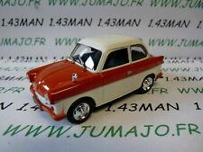 PL154U VOITURE 1/43 IXO IST déagostini POLOGNE : DDR TRABANT P50 limousine rouge