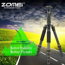 ZOMEI Carbon Fiber Tripod Camera Tripod Monopod Ball Head For Canon Camera Q666C