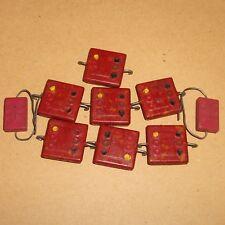 EL MENCO and Two SANGAMO Job lot Domino Capacitors (RE88ER)