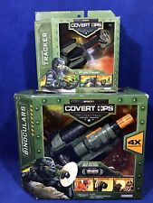 New  VIBRASONIC BINOCULARS & RECON TRACKER - SpyNet COVERT OPS Spy Gear Lot