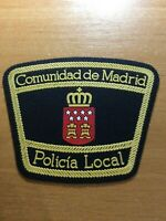 SPAIN PATCH POLICE POLICIA LOCAL MADRID ( CAPITAL CITY ) - ORIGINAL!
