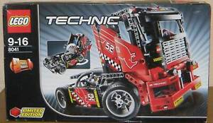 Lego Technic 8041 Renntruck Limited Edition 100% komplett mit Karton + Anleitung