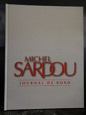 Michel SARDOU Journal de bord 1965-1995 ARTBOOK by PN