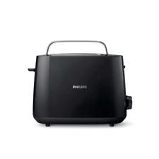 Philips HD2581/90 Daily Collection Toaster schwarz Brötchenaufsatz