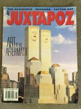 JUXTAPOZ MAGAZINE MAY/JUNE 2002 NIAGRA MIKE DAVIS THE RESIDENTS