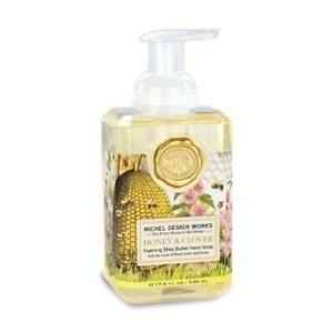 Michel Design Works Foaming Shea Butter Hand Soap 17.8 Oz. - Honey & Clover