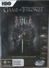Game of Thrones Complete Season One 5 Discs R4  Tested