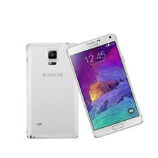 "Samsung Galaxy Note 4 N910t 5.7"" 32gb Smartphone Unlocked 3gb RAM Mobile Phone White"